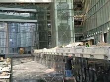 某区政府积水槽工程