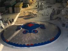 蒙古包式盖板